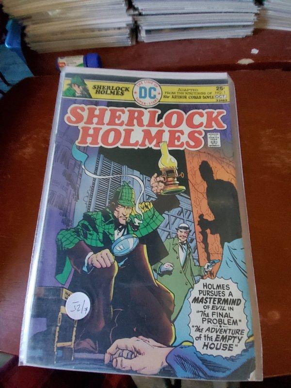 Sherlock Holmes #1 (1975)