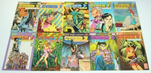 Cyber 7 Book Two: Rockland #1-10 VF/NM complete series - studio proteus manga