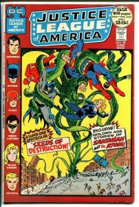 JUSTICE LEAGUE OF AMERICA #98 1972-OCCULT COVER VG