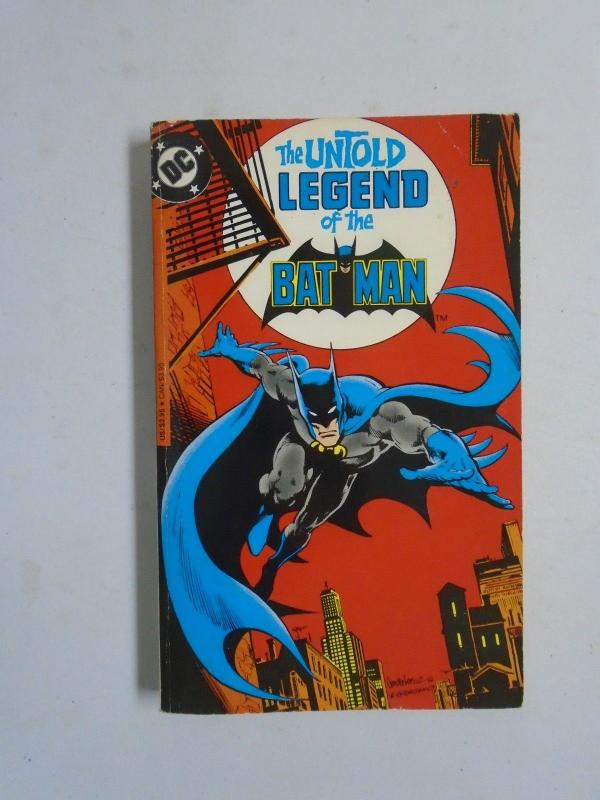 Untold Legend of the Batman #1 - 1st print - 8.0 - 1982 - paperback