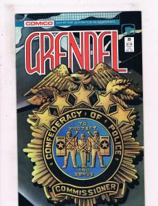 Grendel #25 NM Comico Comics Comic Book 1988 DE25