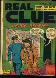 REAL CLUE CRIME STORIES V.5 #2-1950-PRE-CODE VG