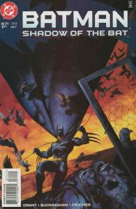 Batman: Shadow of the Bat #71 VF/NM; DC   save on shipping - details inside