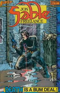 Jon Sable, Freelance #2 VF/NM; First | save on shipping - details inside