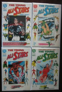 The Young All Stars LOT #1 - 20, 22, 23 + Annual(23 Diff) - 8.0 VF (1987 - 1989)