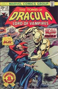 Tomb of Dracula (1972 series) #39, VF- (Stock photo)