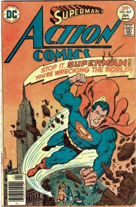 Action Comics #467 - Superman GD