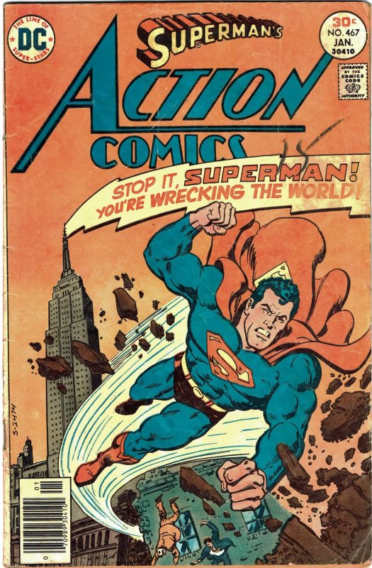 Action Comics #467 - Superman GD