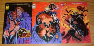 Flesh & Blood #1-3 VF/NM complete series - jim balent - steve skroce - bad girl