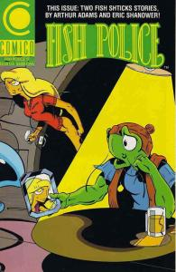 Fish Police, The (Vol. 2) #17 VF/NM; COMICO | save on shipping - details inside