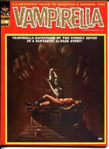 Vampirella #8 1970-Warren-bondage cover-Tom Sutton art-VF