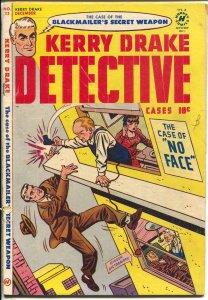 Kerry Drake Detective Cases #23-1950-Andriola-Bob Powell-blackmail-VG