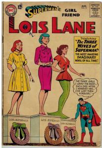 LOIS LANE 51 G-VG Aug. 1964
