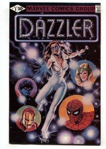 Dazzler #1 comic book 1981- Marvel Comics- high grade NM-