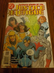 Formerly Known as the Justice League #1 (2003)