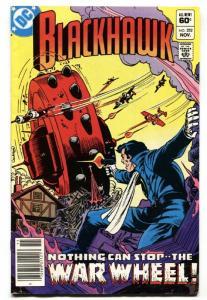 BLACKHAWK #252-1982-War Wheel-comic book DC VF-