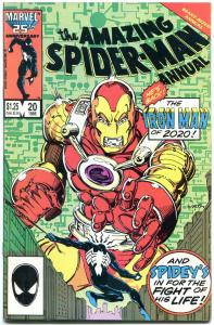 AMAZING SPIDER-MAN ANNUAL #20 1986-MARVEL VF/NM