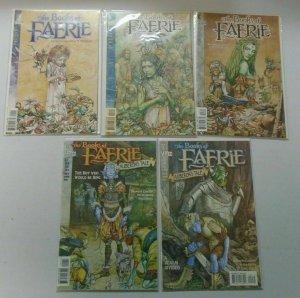 Books of Faerie 10 Different Books 8.0 VF (1997-99)