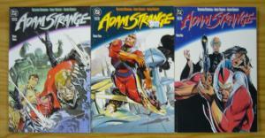 Adam Strange #1-3 VF/NM complete series ANDY KUBERT prestige format 1990 DC