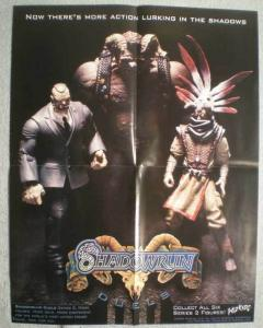 SHADOWRUN Promo poster, 17x22, 2003,  Unused, more in our store