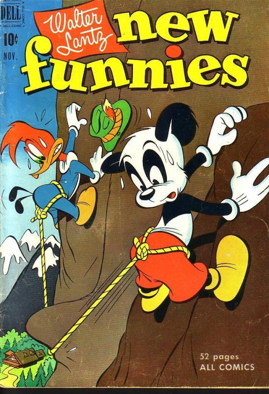 NEW FUNNIES #177 WOODY WOODPECKER EGYPTIAN COLLECTION VG/FN