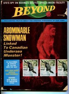 Beyond 9/1969-Abe Lincoln-Abominable Snowman-Voodoo-JFK-Jayne Mansfield-G