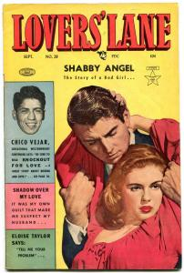 Lovers' Lane #28 1952- Golden Age Romance- Shabby Angel- Chico Vejar FN