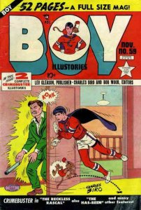 Boy Comics #59 POOR; Lev Gleason | low grade comic - save on shipping - details