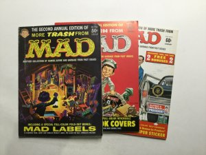 More Trash From Mad Annual 2 3 11 Magazine Lot Vg 4.0 Entertainment Comics