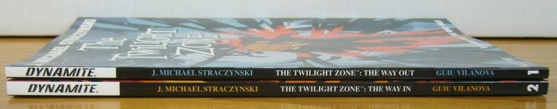 Twilight Zone TPB vol. 1 & 2 VF/NM dynamite set lot straczynski ($31.98 value)