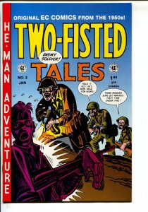 Two-Fisted Tales-#2-1993-Russ Cochran-EC reprint