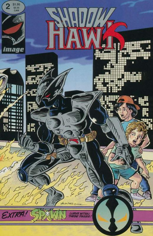 SHADOWHAWK (1992 IM) 1(1.95 VARIANT),2-4  VGF Spawn etc
