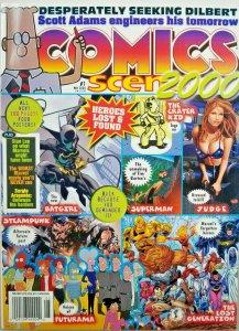Comics Scene 2000 #1 Magazine Dilbert - Futurama - Steampunk - Superman NoML EX