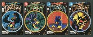 Demon #1  #2  #3  #4 (COMPLETE SET) / 9.0 VFN/NM   1987