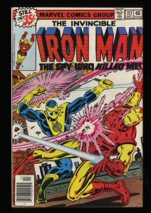 Iron Man #117 NM+ 9.6 Marvel Comics
