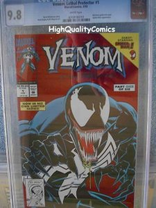 VENOM LETHAL PROTECTOR #1, CGC 9.8, NM/M, WP, Spider-man, more CGC in store