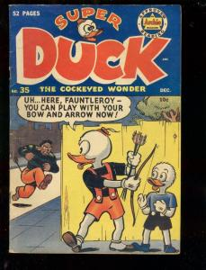 SUPER DUCK #5 1950-ARCHIE COMICS-VIOLENT FUNNY ANIMALS VG/FN
