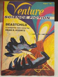 Venture Science Fiction August 1970 Volume 4 #3