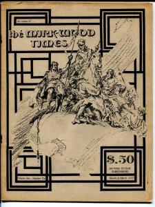 Mirk-Wood Times #2 1973-e-Adzine-Roy Krenkel-TBG competitor-Stroud-VG/FN