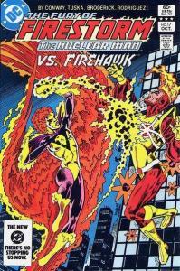 Fury of Firestorm (1982 series) #17, NM- (Stock photo)