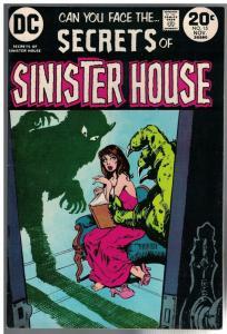 SECRETS OF SINISTER HOUSE 15 FN+  Nov. 1973
