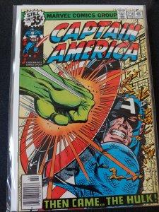 CAPTAIN AMERICA #230  VS. THE HULK