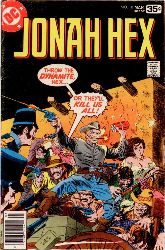DC JONAH HEX BRONZE LOT #4 9 10 15 16 VG+ to VF+ (5 comics)
