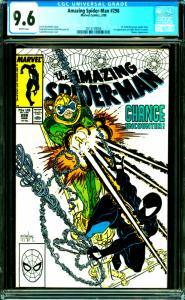 Amazing Spider-Man #298 CGC Graded 9.6 1st Todd McFarlane Spider-Man