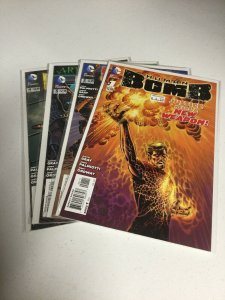 Human Bomb 1-4 Nm Near Mint DC Comics