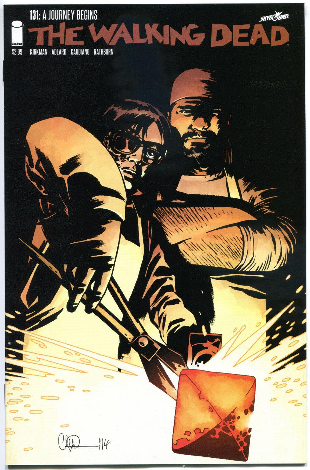 WALKING DEAD #131 1st Print Image Comics Robert Kirkman Skybound NM