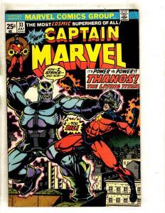 Captain Marvel # 33 VF Comic Book Thanos Avengers Carol Danvers Hulk Thor FM3