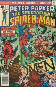 Marvel THE SPECTACULAR SPIDER-MAN (1976 Series) #2 VF