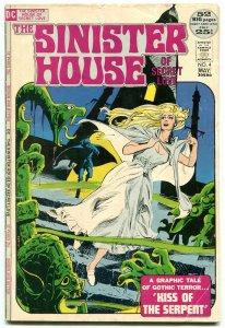 Sinister House Of Secret Love #4 1972-DC GOTHIC HORROR VG