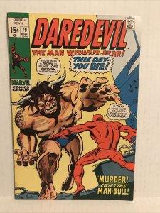 Daredevil #79 (Daredevil Vs Man-bull)